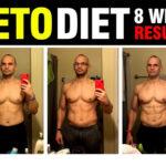 8 weeks keto diet results