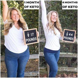 keto transformation 1 month
