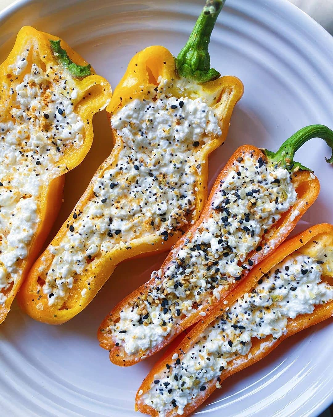 snack deserved bell peppers