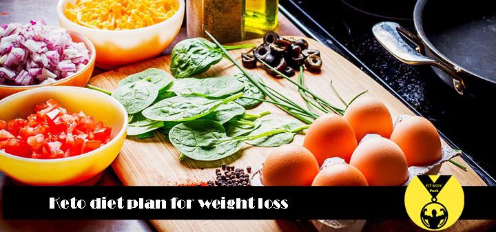 Ketogenic diet sample
