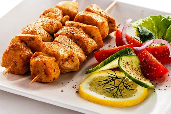 Ketogenic grilled chicken