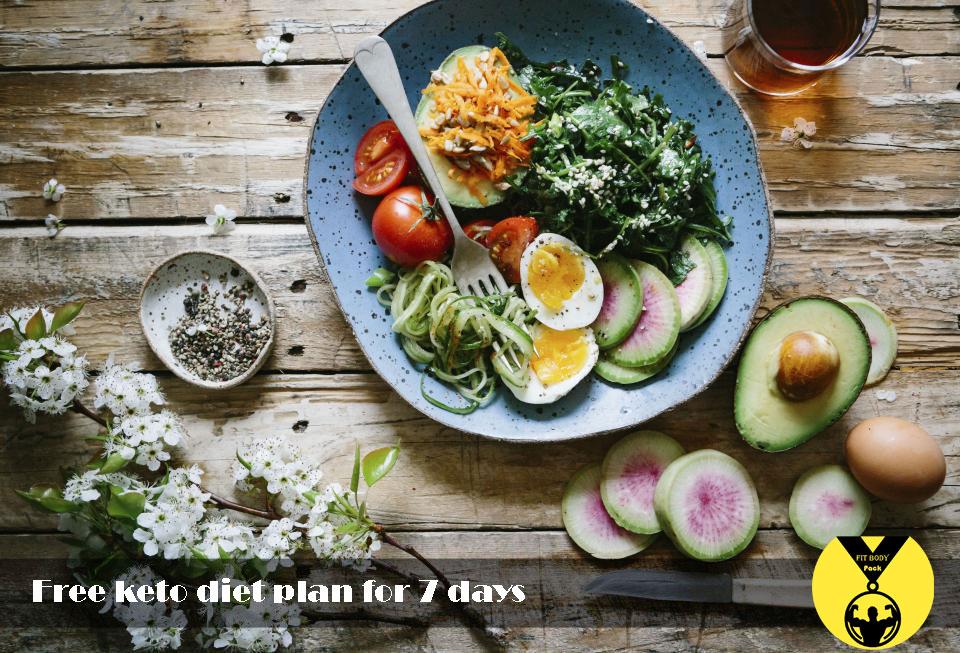 Free keto diet plan for 7 days