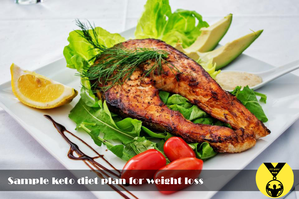 Sample keto diet plan for weight loss