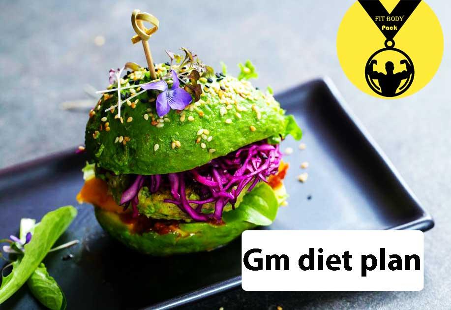 Gm diet plan for 7 days