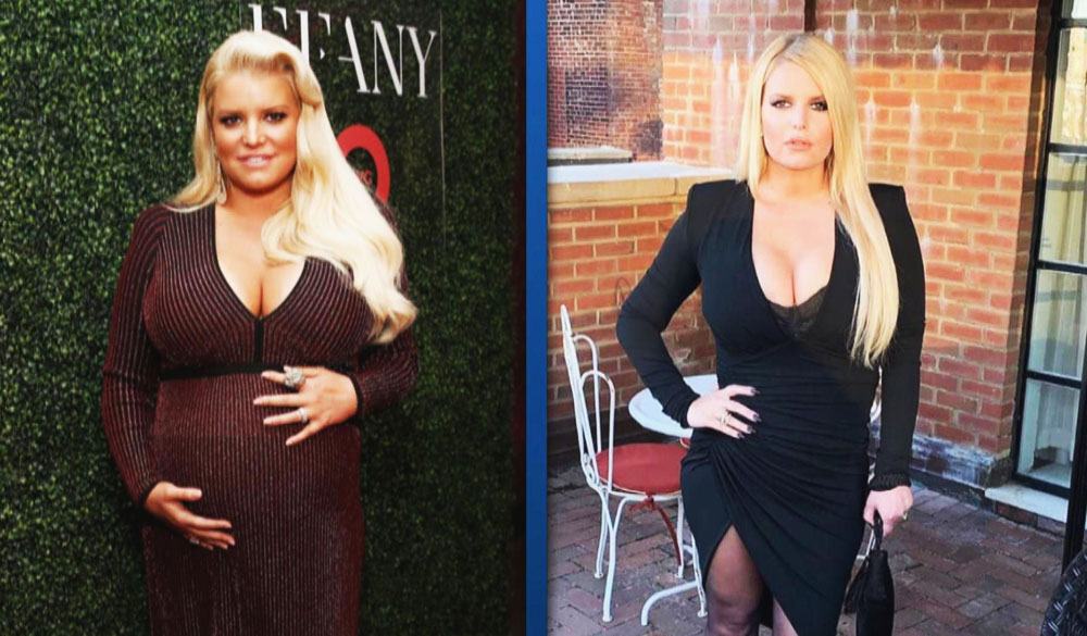 9 Steps Jessica Simpson 👧 weight loss 100-Pound in 6 months