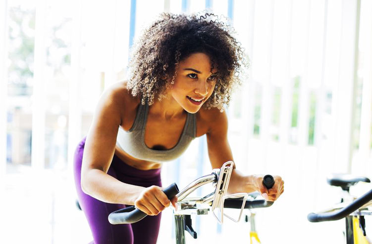 exercise to lose weight spinnig