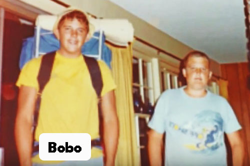 james bobo fay as a teenager