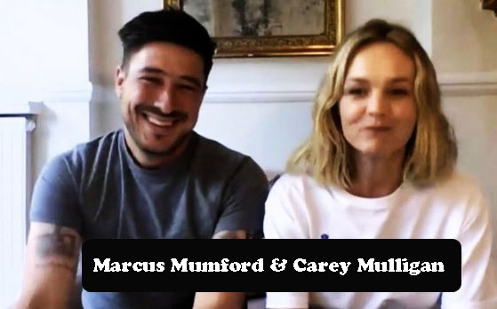 Marcus Mumford and Carey Mulligan after weight loss