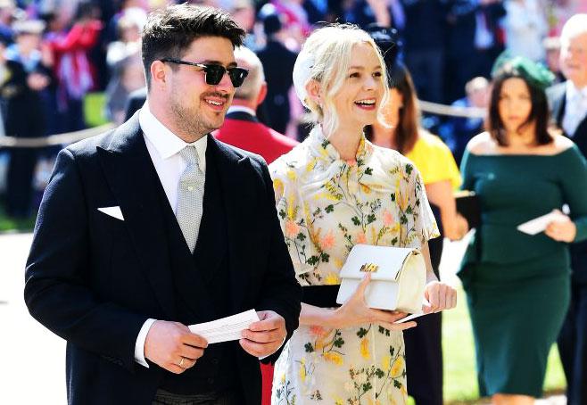 Marcus Mumford wedding