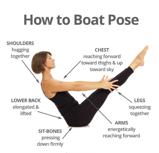 how to boat pose