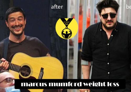 marcus mumford weight loss