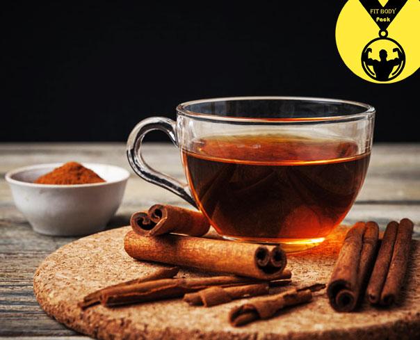 Cinnamon weight loss and burning fat tea
