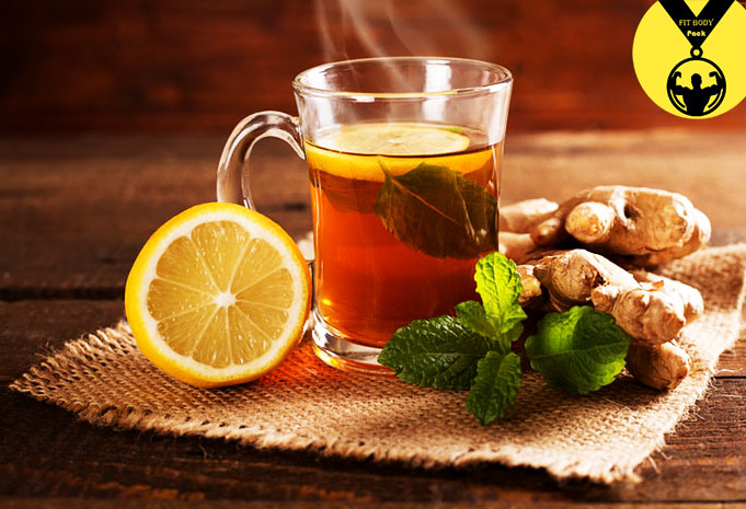 Green tea and ginger for slimming