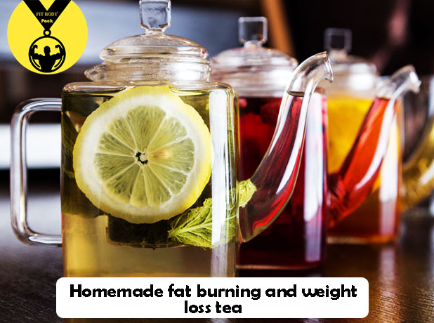 Homemade fat burning and weight loss tea