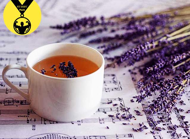 Lavender slimming tea