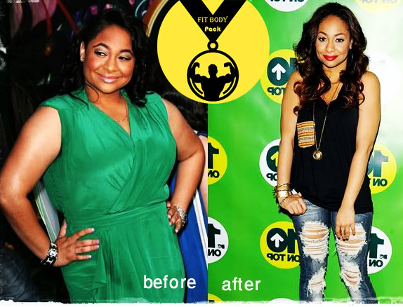 Raven Symone weight loss before & after