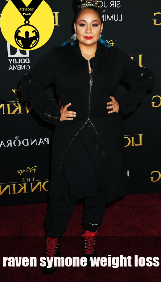 raven symone loses weight